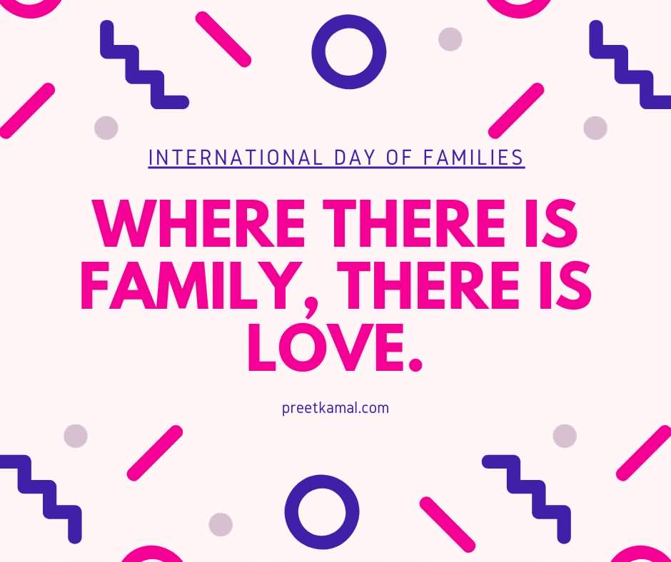 Cool International Day of Families Greetings HD
