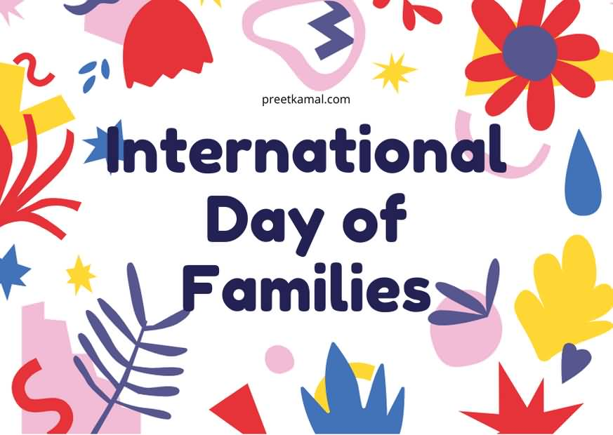 Famous International Day of Families Greeting