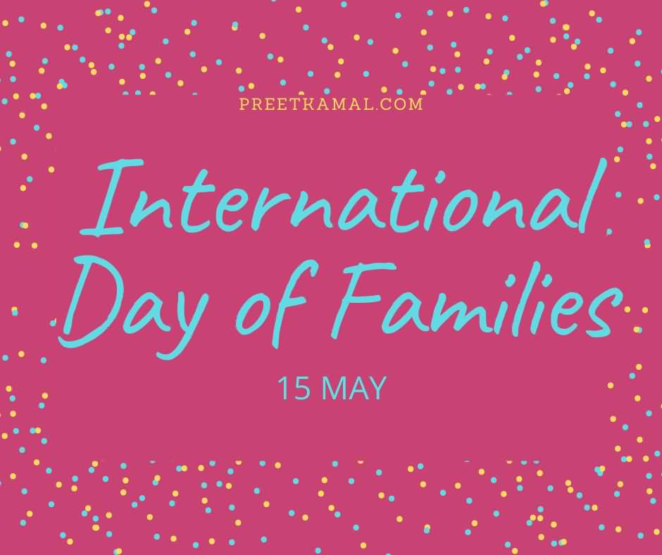 Latest International Day of Families Wishing Photo