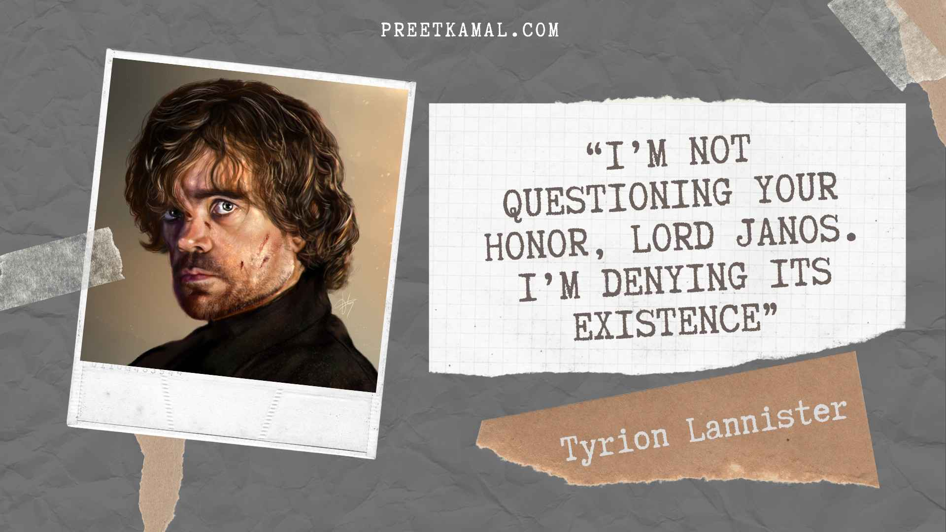 Tyrion Lannister Quotes For Instagram