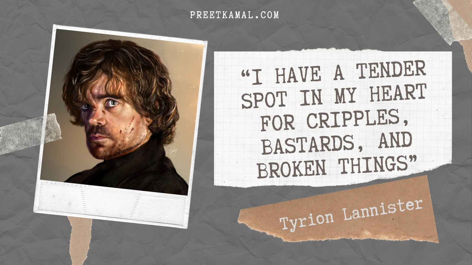 Tyrion Lannister Quotes Pic