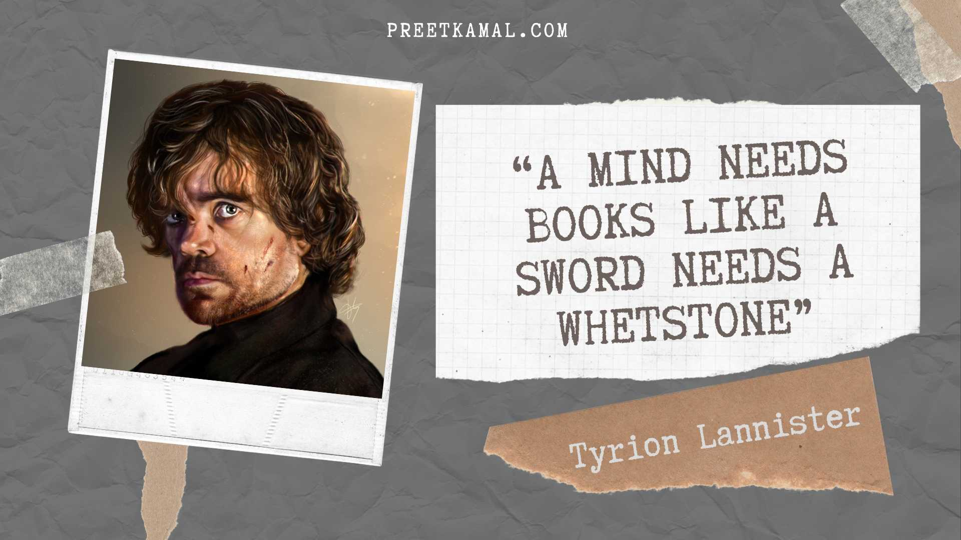 Tyrion Lannister Quotes Picture