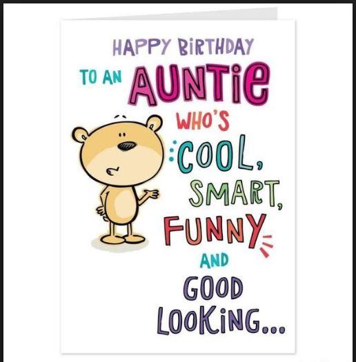 Cool Smart Funny Happy Birthday Aunt Meme