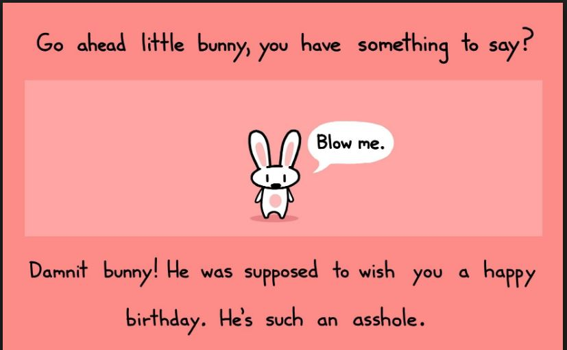 Go Ahead Little Bunny Happy Birthday Aunt Meme