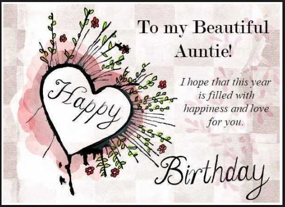I Hope That This Happy Birthday Aunt Meme