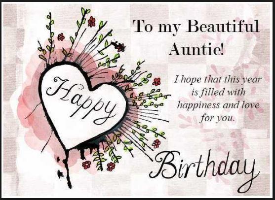 I Hope That This Happy Birthday Aunt Meme