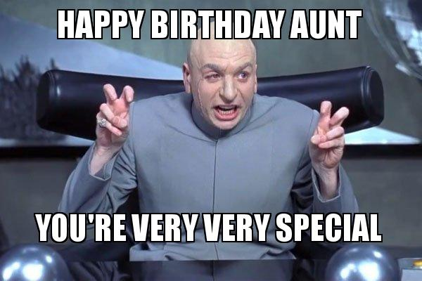 Youre Very Very Special Happy Birthday Aunt Meme