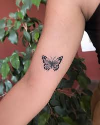 Another Amazing Flying Butterfly Tattoo Design