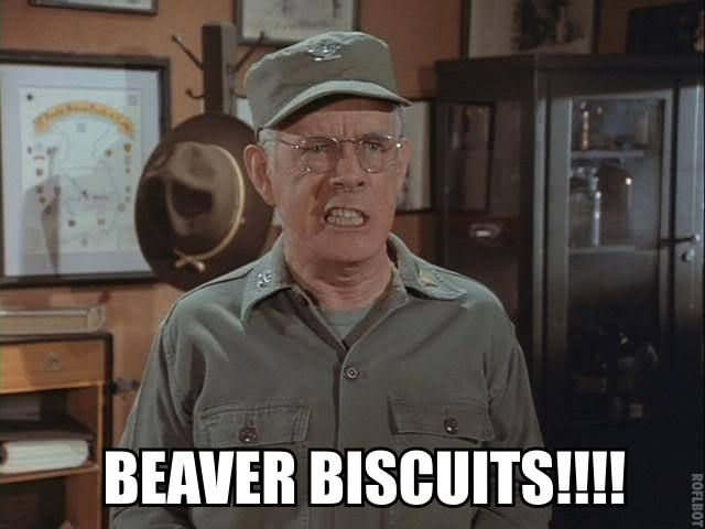 Beaver Biscuits Colonel Potter Quotes