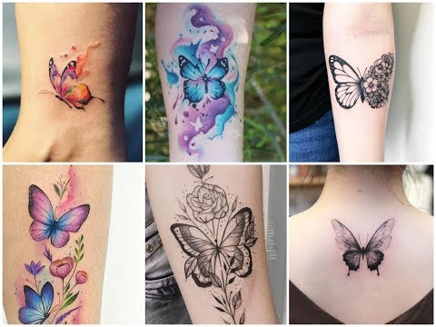 Fabulous Butterfly Tattoo Ideas That Are Trending