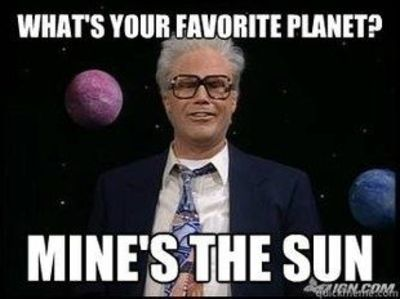 Favorite Planet The Sun Harry Caray Will Ferrell Quotes