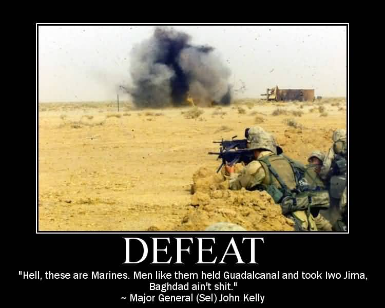 Hell These Are Marines Marine Quotes About Death