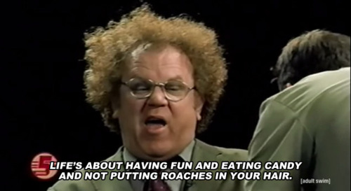 Life About Having Steve Brule Quotes
