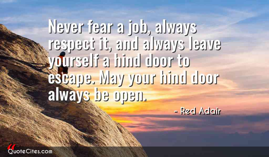 Never Fear A Jon Always Red Adair Quotes