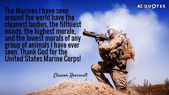 The Marines I Have Seen Marine Quotes About Death