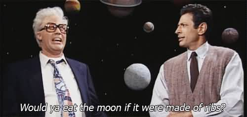 Would Ya Eat The Moon Harry Caray Will Ferrell Quotes