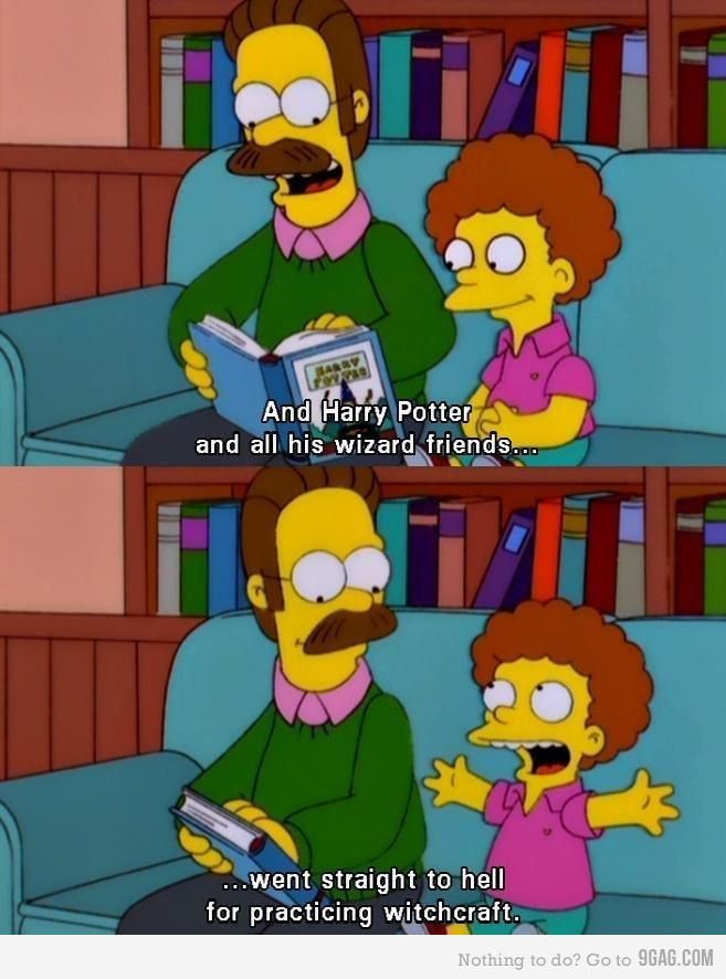 And Harry Potter And All Ned Flanders Quotes