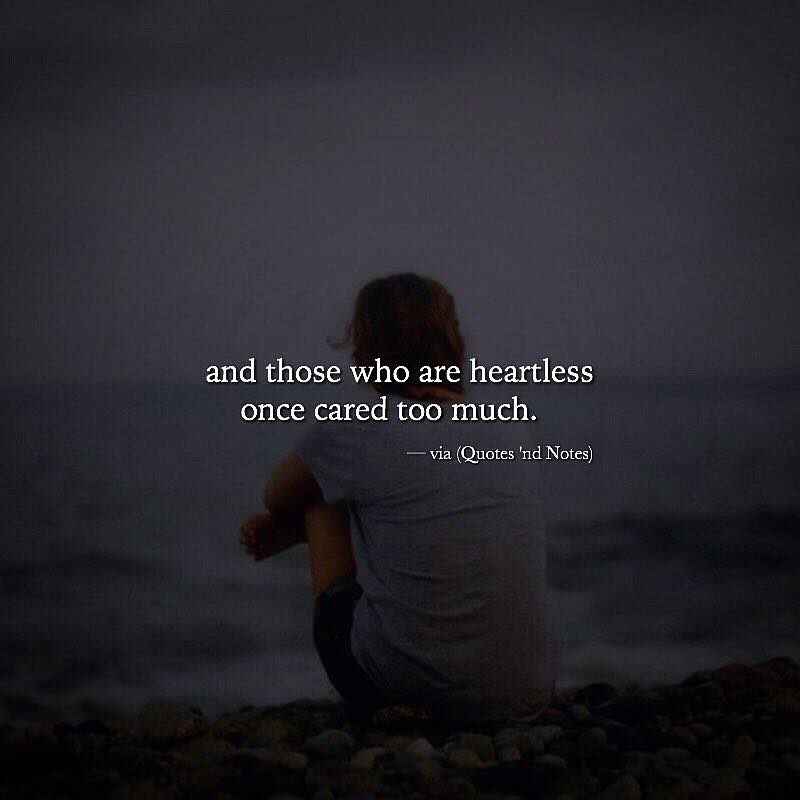 And Those Who Are Heartless Quotes