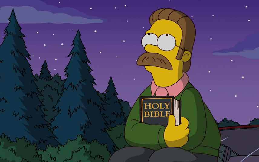 Holy Bible Ned Flanders Quotes