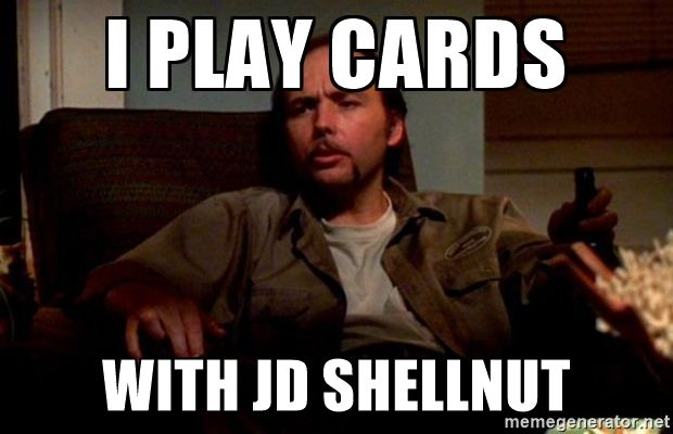 I Play Cards With Dwight Yoakam Sling Blade