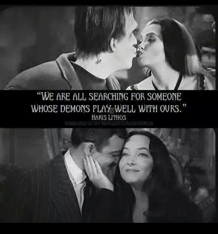 We Are All Searching Addams Family Meme