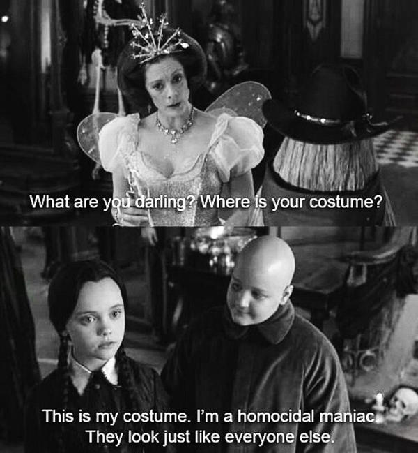 What Are You Darling Addams Family Meme