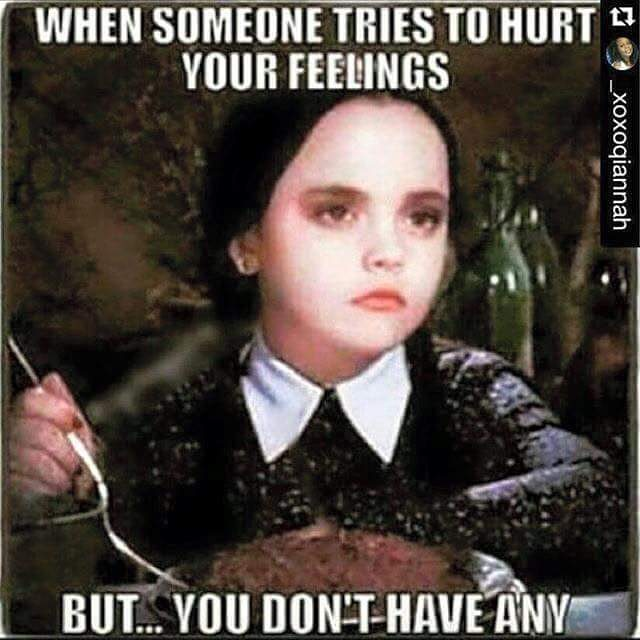 When Someone Tries To Addams Family Meme