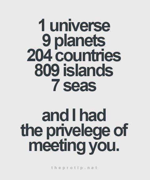 1 Universe 9 Planets Friend Quotes