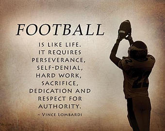 Football Is Like Life Football Quotes