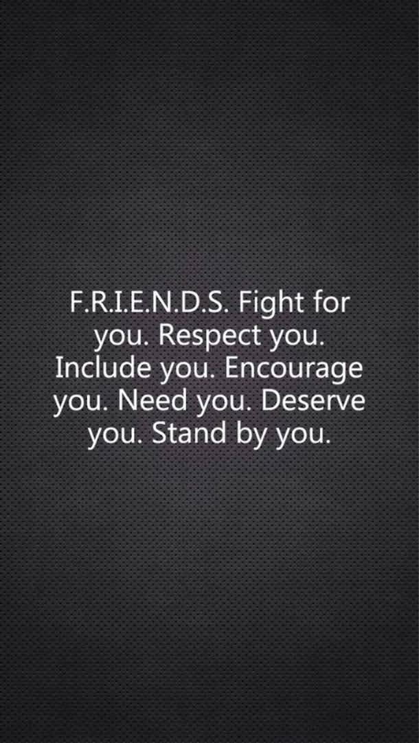 Friends Fight For You Friend Quotes