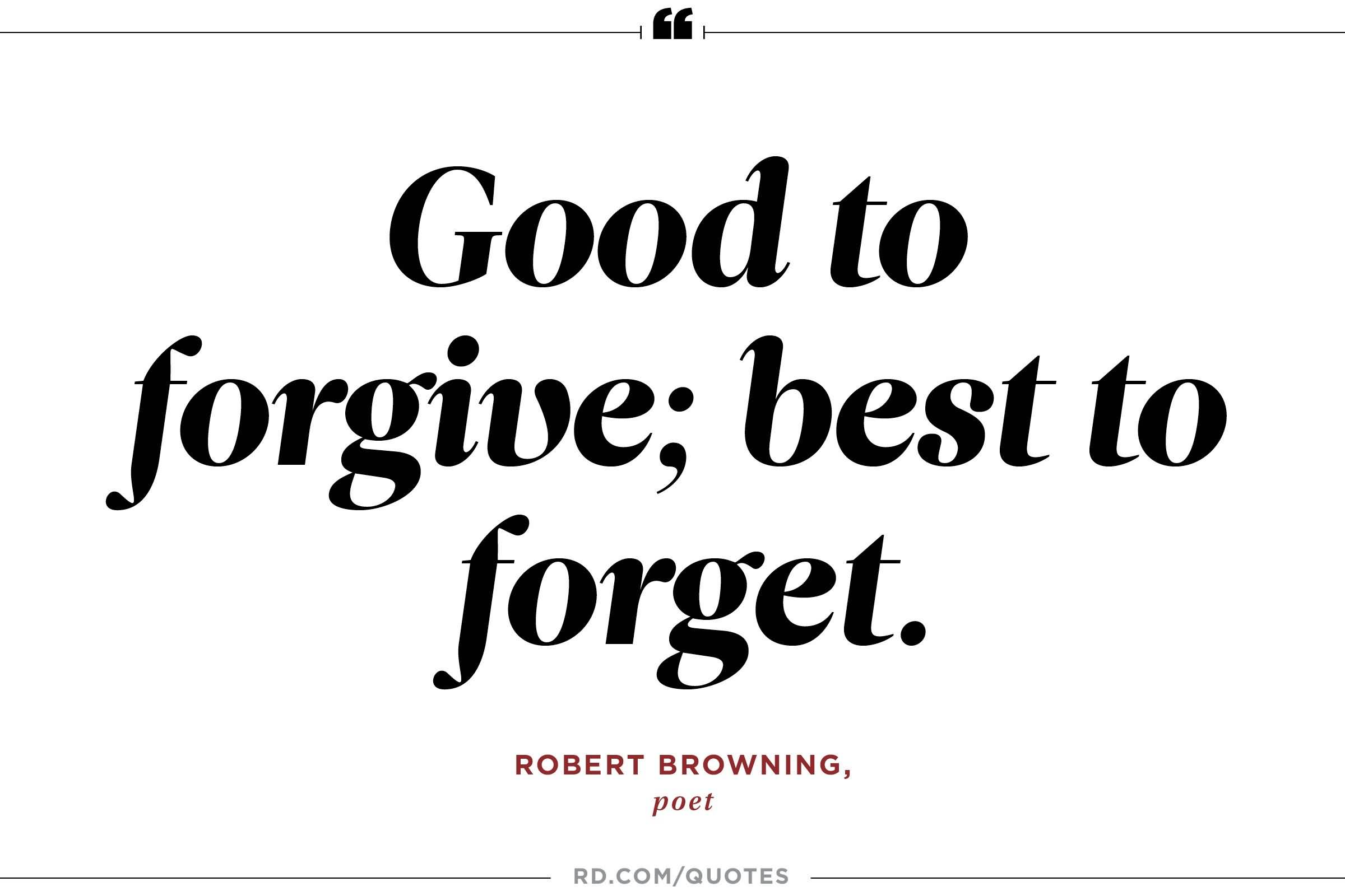 Good To Forgive Best Forgiveness Quotes