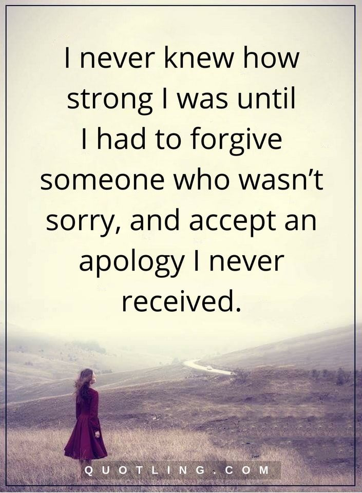 I Never Knew How Forgiveness Quotes