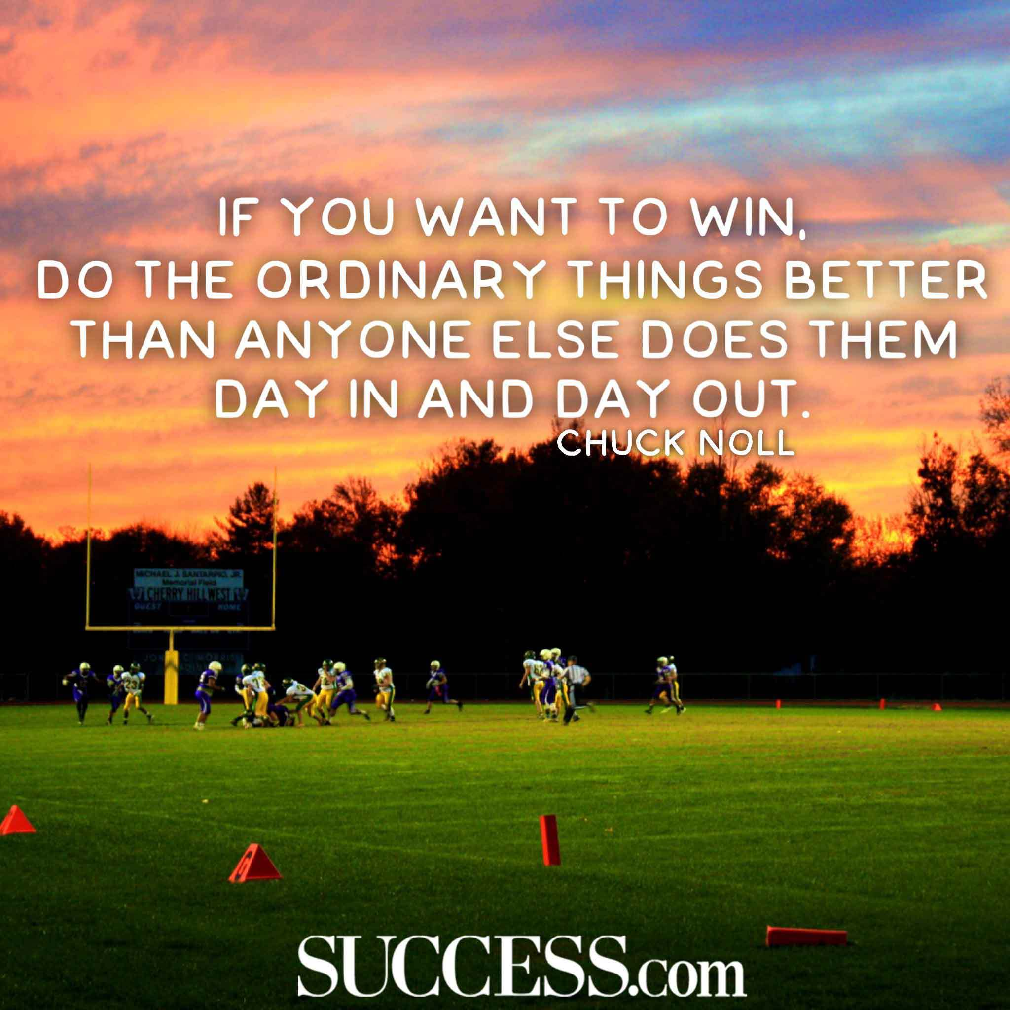 If You Want To Win Football Quotes