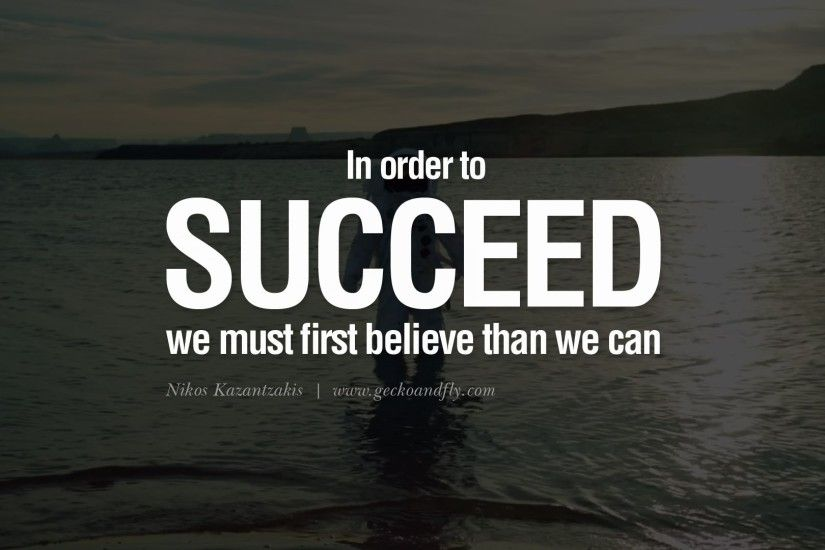 In Order To Succeed Football Quotes