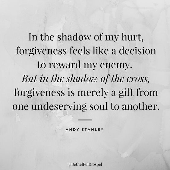 In The Shadow Of Forgiveness Quotes