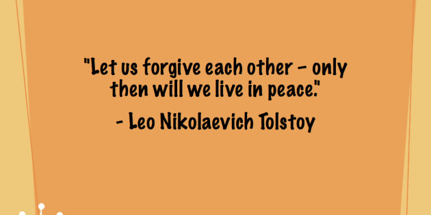 Let Us Forgive Each Forgiveness Quotes