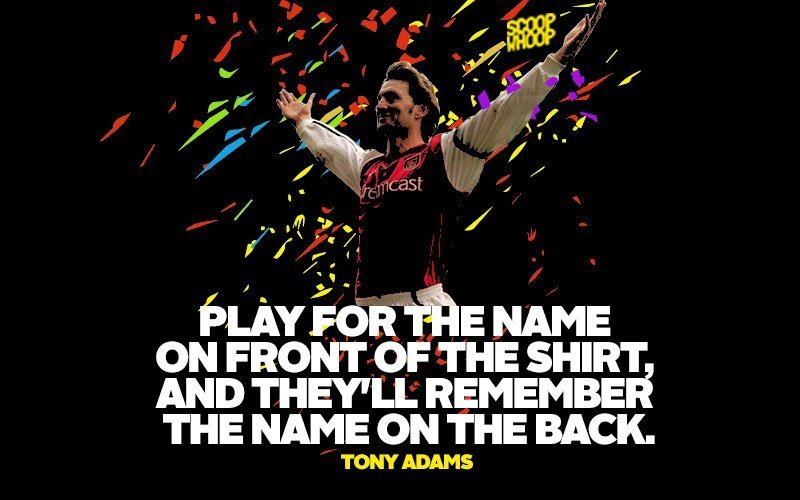 Play For The Name Football Quotes