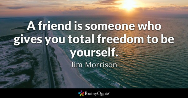 A Friend Is Someone Friends Quotes