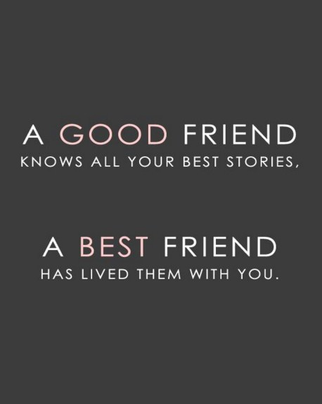 A Good Friend Knows All Friendship Quotes