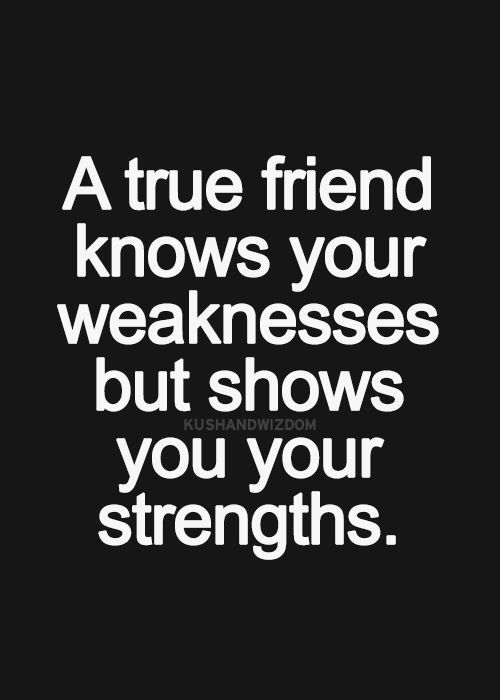 A True Friend Knows Your Friendship Quotes