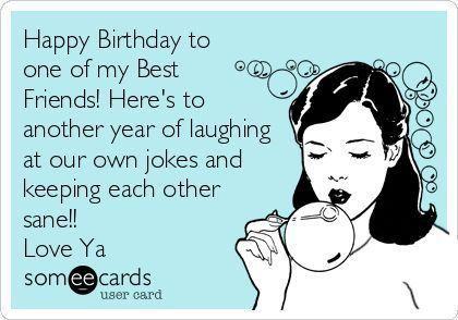 Happy Birthday To One Of Funny Birthday Quotes