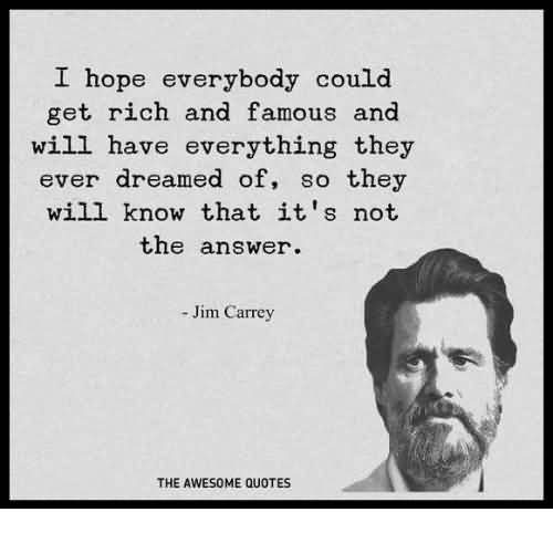 I Hope Everybody Could Jim Carrey Quotes