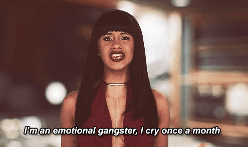 I'm An Emotional Gangster Cardi B Quotes