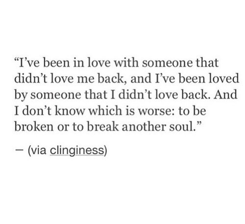 I've Been I Love With Broken Love Life Quotes
