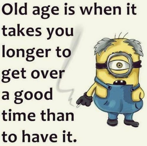 Old Age Is When It Funny Birthday Quotes