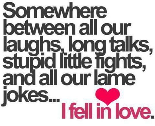 Somewhere Between All Our Funny Love Quotes