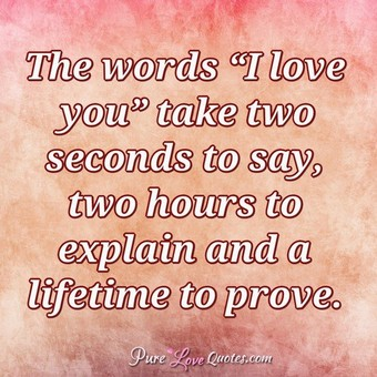 The Words I Love You Funny Love Quotes