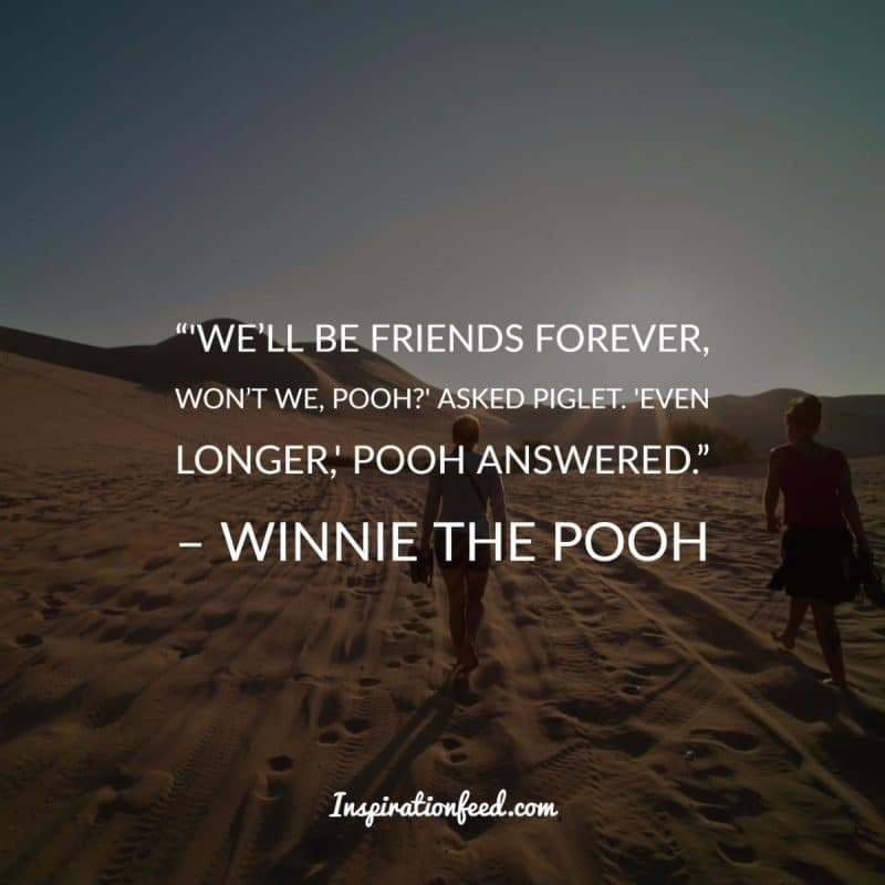 We'll Be Friends Forever Friendship Quotes