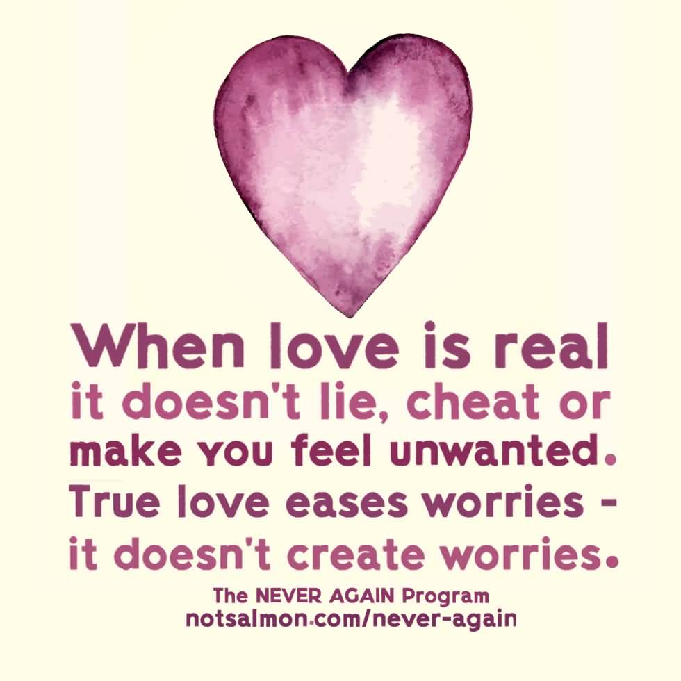 When Love Is Real Broken Love Life Quotes