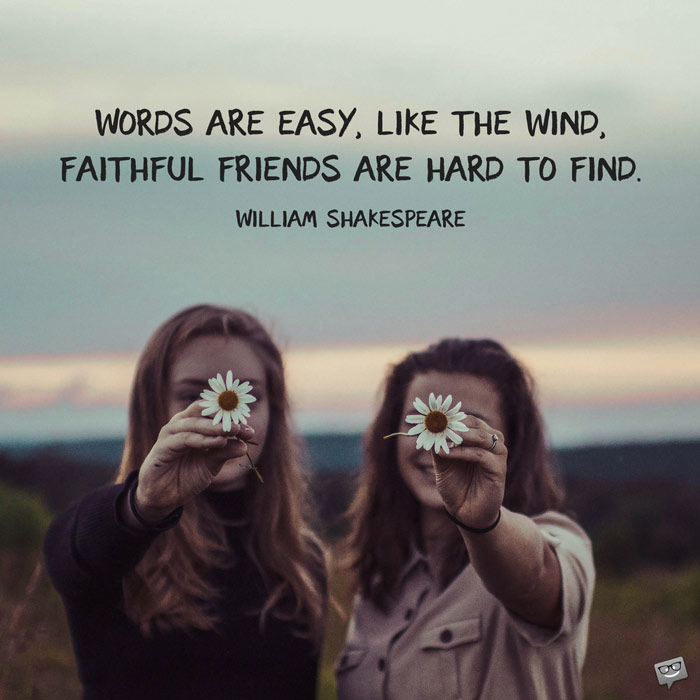 Words Are Easy Like Friendship Quotes